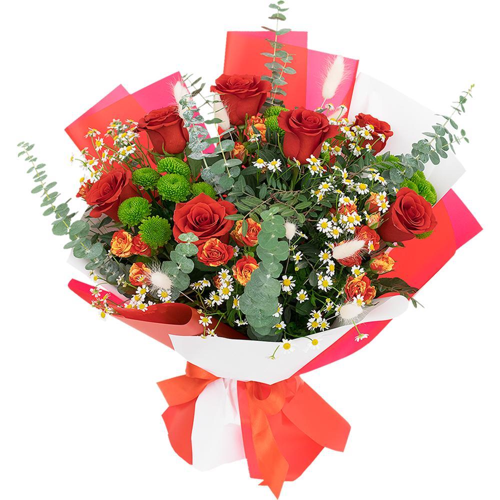 Букеты из цветов дешево красноярск, свадебные букеты