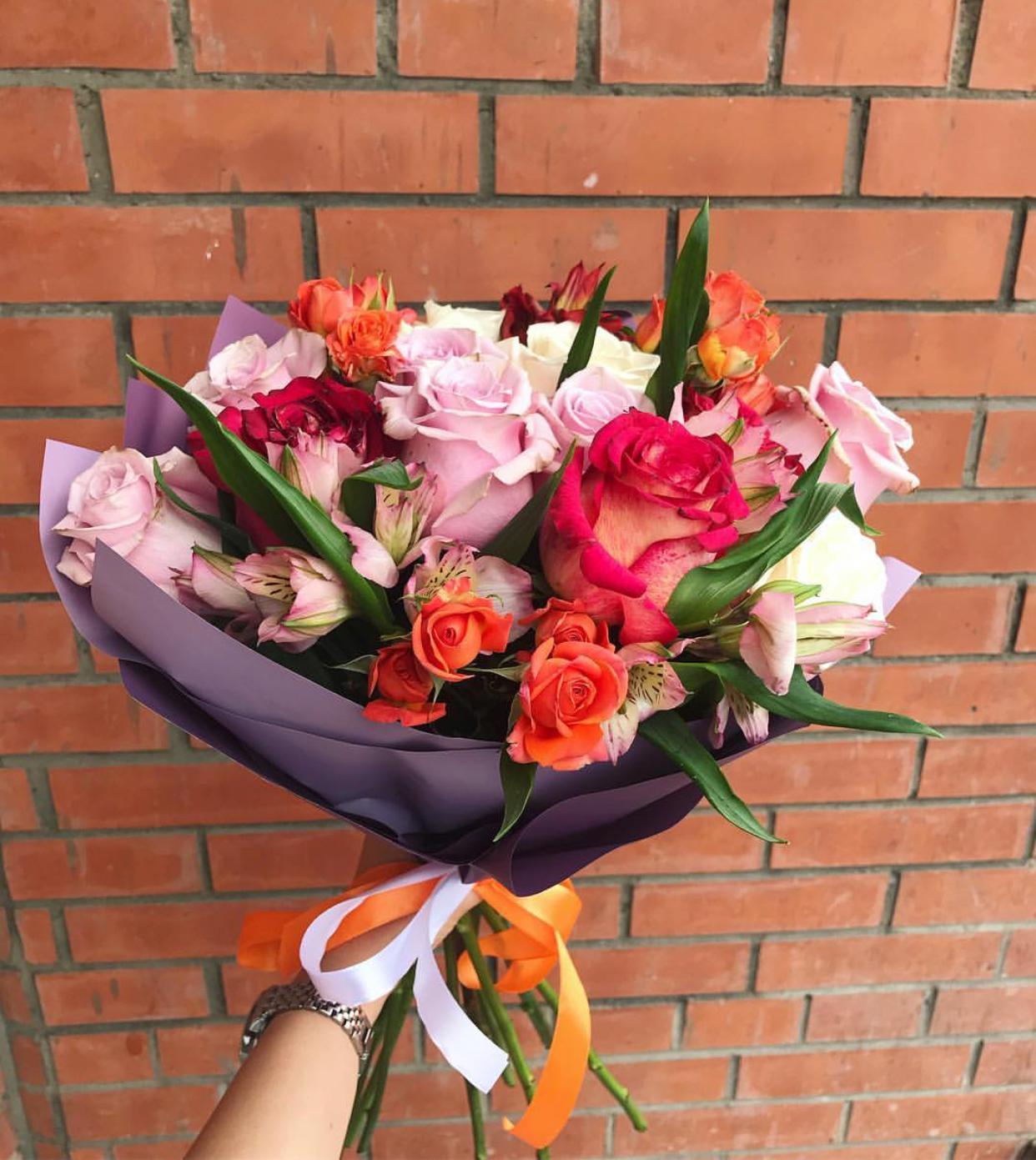 Букет красноярск, цветов