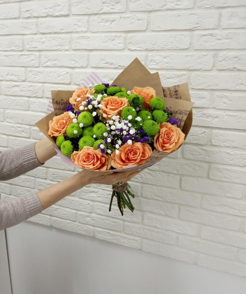 Доставка цветов по красноярску розы