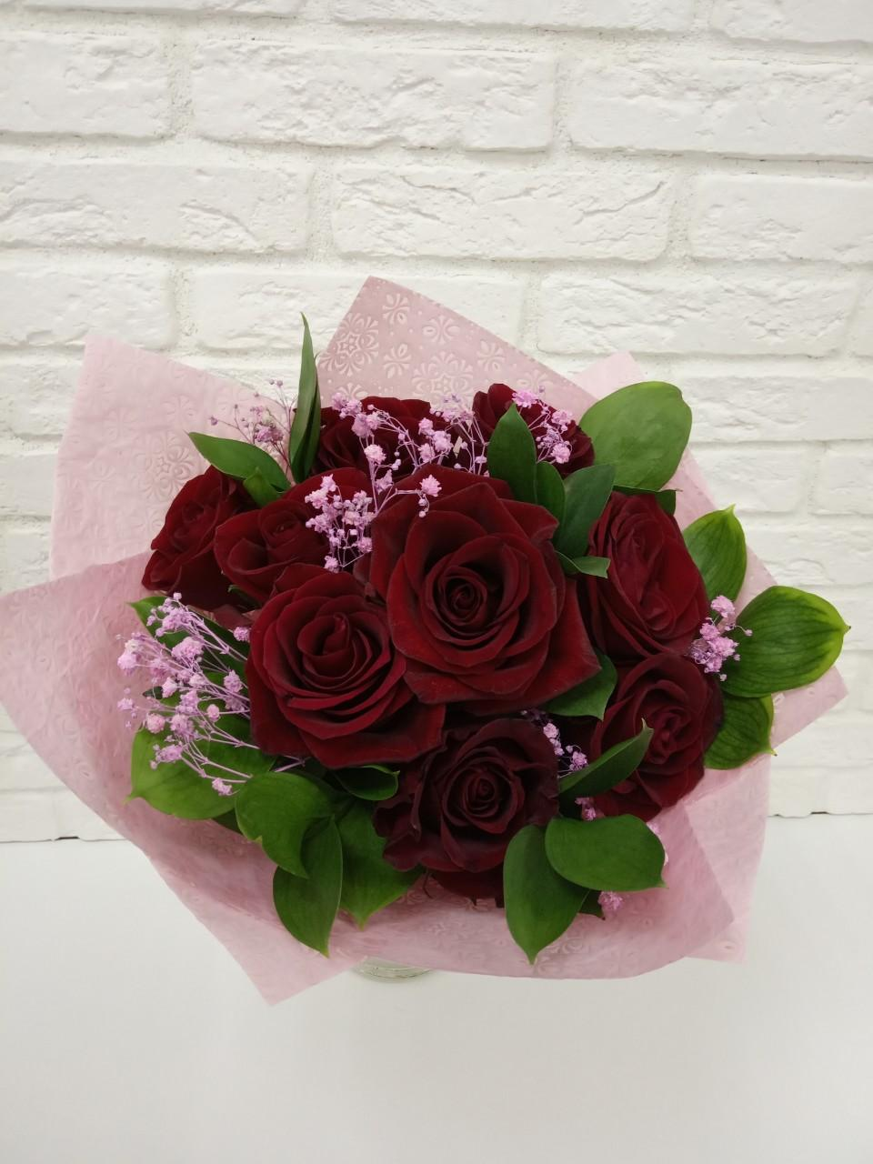 Заказать цветы в коробке красноярск, цветы