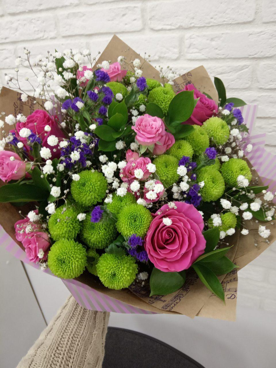 Букет орхидей, купить цветы в красноярске недорого