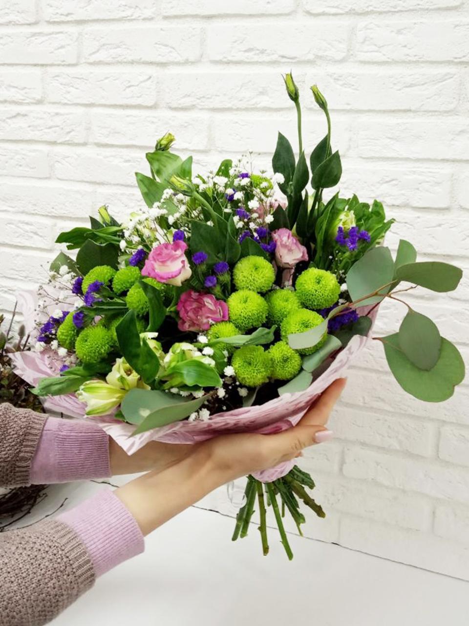 Букет, доставка цветов по красноярску розы