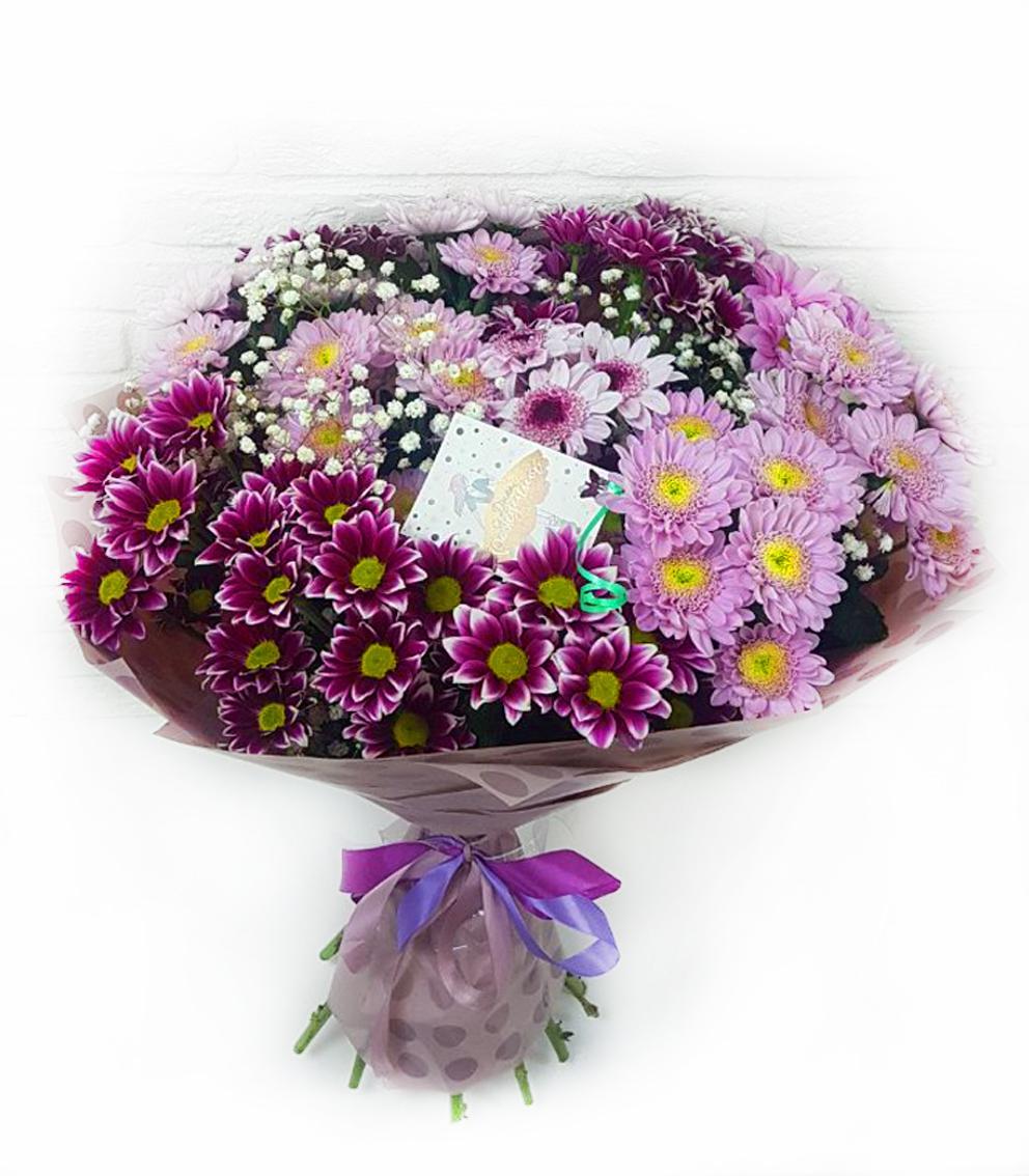 Агентство по доставка цветов красноярский край, букет фрезия